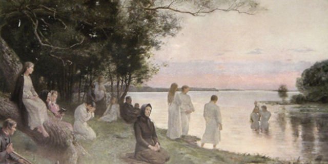 Baptisterne