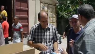 Cubas kirker har netop modtaget 83.000 bibler, og efterspørgselen er stor. Foto: CBN.com