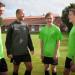 Hestlund Efterskole tilbyder fem forskellige linjer. En af dem er fodboldlinjen, nu med tidligere superligaspiller Frank Kristensen fra FC Midtjylland, som træner. Foto: Gitte Vollsmann.