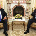 Statsminister Benjamin Netanyahu og Ruslands præsident Vladimir Putin mødtes i Mosk-va den 21. september 2015.