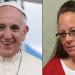 Pave Frans mødtes uofficielt med Kim Davis på Vatikanets ambassade i Washington. Kim Davis fortæller, at hun nu er gået over til republikanerne: Demokraterne hjalp mig slet ikke. Det har republikanerne gjort.