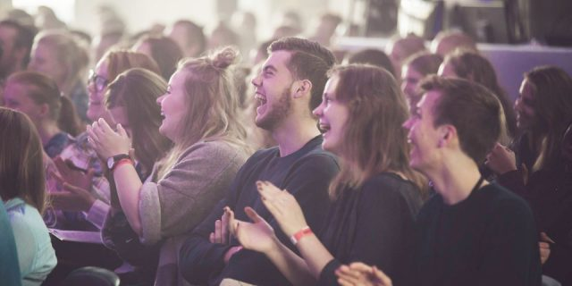Sidste år deltog 360 unge på Brigther konferencen i Aarhus Valgmenighed. Foto: Brighter