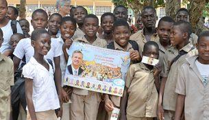 Der var rift om plakaten for kampagnen blandt især børn og unge.
