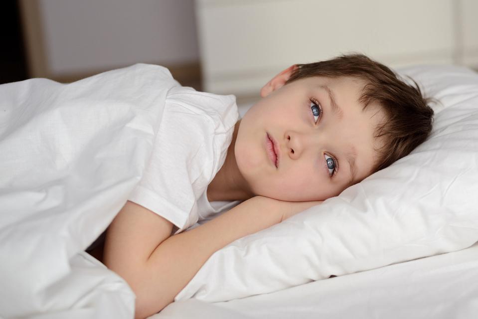Min søn kan ikke falde i søvn om aftenen - Udfordringen