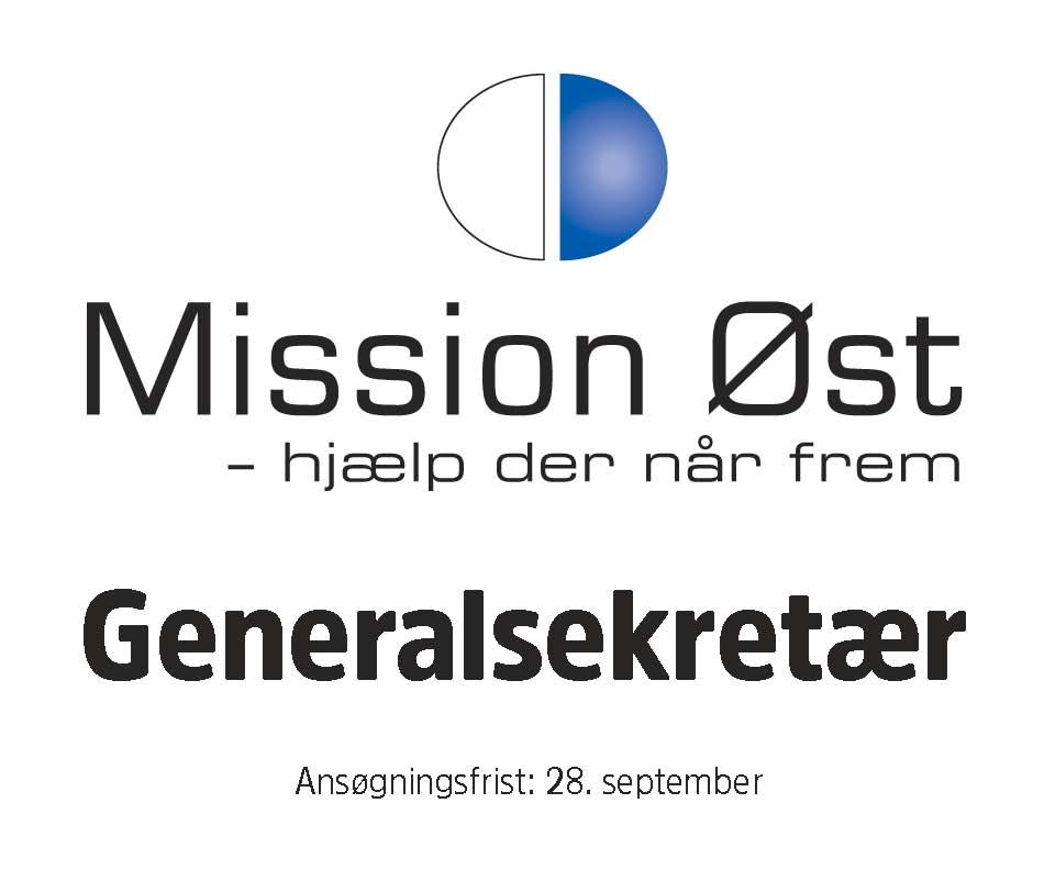 Mission Øst stillingsannonce