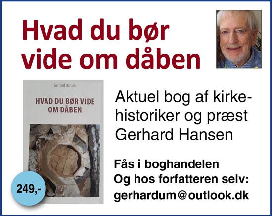 Gerhard Hansen_Hvad du bør vide om dåben