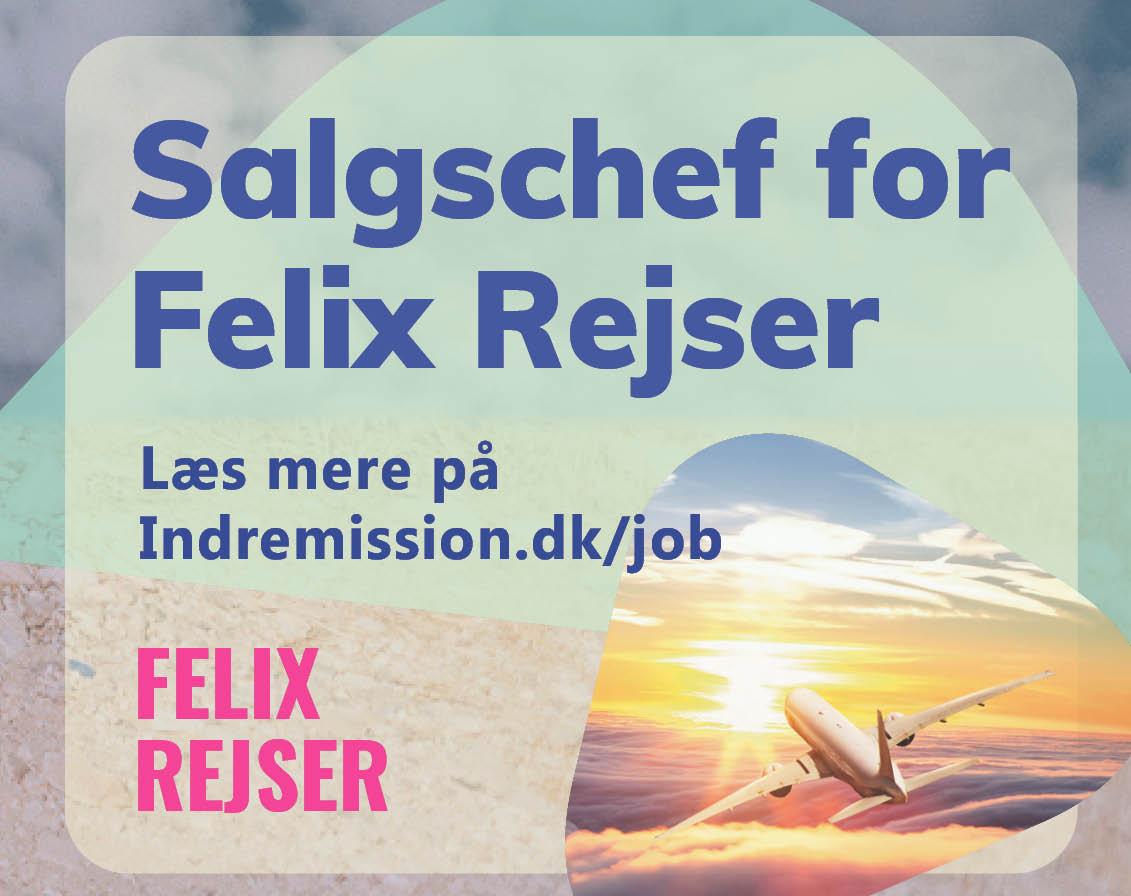 Felix Rejser salgschef