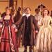 Salmen Amazing Grace (Forunderlige nåde) er skrevet af den tidligere slavehandler John Newton. Josh Young (i midten) spiller den unge Newton i musicalen Amazing Grace, der nu opføres på Nederlander Theatre Broadway.