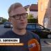 - Det er et mirakel, at der ikke skete noget meget værre, fortæller IMU's landsleder Tonny D. Sørensen. Skærmprint fra TV2 Østjyllands interview uden for missionshuset Tabor.